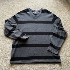 Old Navy | Striped V-neck Sweater